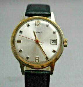 Vintage Banca Wrist Watch Swiss Made - UK Stock