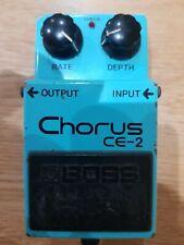 Boss CE2 Chorus 1980's Made In Japan Serial Number 108700