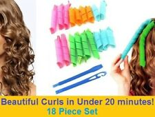 18Pcs Set Long Short Hair Curlers Curl Rollers Spiral Tool Mixed Sizes Reusable