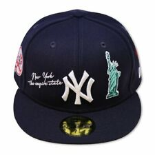 """New Era New York Yankees QT NYC20 """"THE ICON"""" 59Fifty Wool Gray Under Visor"""