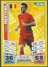 TOPPS MATCH ATTAX  BRAZIL 2014 WORLD CUP- #027-BELGIUM-DRIES MERTENS
