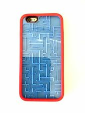 New 3D Game Maze Labyrinth Rubberized Soft Case w/Hard Cover for iPhone 6/6S