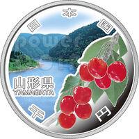 YAMAGATA 47 Prefectures (34) Silver Proof Coin 1000 Yen Japan Mint 2014