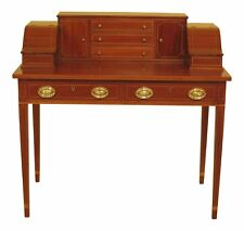 46672Ec: Kittinger Biggs Federal Inlaid Mahogany Ladies Writing Desk