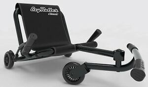 Ezy Roller Classic Kids 3 Wheel Ride On Ultimate Riding Machine Black NEW