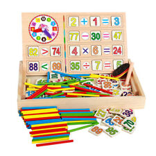 Wooden Number Sticks Maths Mathematics Counting Educational Toy for Kids