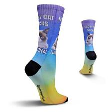 Tacky Cat Socks Grumpy Cat® Sub Crew Socks NWT Women's Sock Size 9-11
