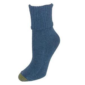 New Gold Toe Women's Turn Cuff Bermuda Socks (3 Pair Pack)