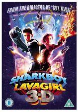 ADVENTURES OF SHARKBOY AND LAVAGIRL 3D DVD SHARK BOY LAVA GIRL New UK Release