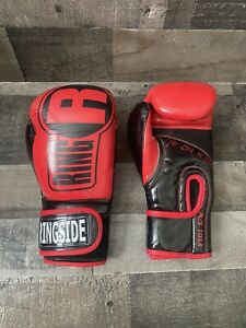 Ringside Boxing Gloves. Apex FTG1 S/M Red and Black