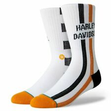 HARLEY-DAVIDSON® STANCE CHECKERS SOCKS M55D18HCW LARGE