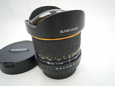 SAMYANG OJO DE PEZ CANON Fit CS 8MM Lente F3.5