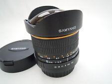 SAMYANG Fisheye CS 8 mm Objectif F3.5