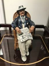 """Royal Doulton Figurine Titled """"Taking Things Easy� Hn 2677 1974"""
