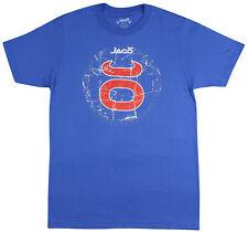 Jaco Tenacity Crest T-Shirt (Royal Blue) - Small