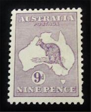 nystamps British Australia Stamp # 41 Mint Og H $325 J15y1944