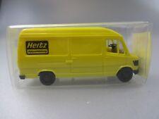 """Herpa: Mercedes Benz 207D Kastenwagen """"Hertz Autovermietung""""      (SSK13)"""