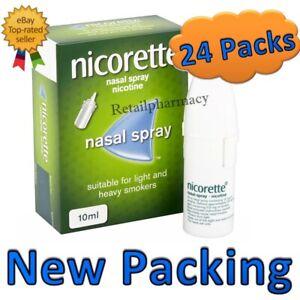 Nicorette Nasal Spray 10ml - 24 Pack  Bulk buy offer Expiry January 2023