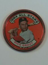 1964 Topps   All-Star Coin #147 Dick Groat - St. Louis Cardinals