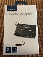 Insignia- Car Cassette Adapter - Black