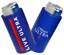 Michelob Ultra 2 Slim Can Foam Cooler Golf Coolie Koozie Huggie New Live Ultra