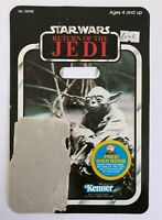 VINTAGE STAR WARS YODA CARDBACK PALITOY STICKER NIEN NUNB OFFER