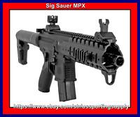 Sig Sauer AIR-MPX-177-88G-30-BLK CO2 Powered Air Rifle 💥💥💥💥💥