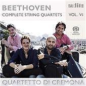 Beethoven: Complete String Quartets Vol. 6, Cremona Quartet CD | 4022143926852 |