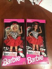 """Vntage Barbie+Theresa """"Spots N' Dots"""" Lot Of 2"""