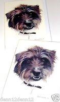 RAGAMUFFIN DOG CARDS X 12 JUST 25p, SUPERB QUALITY ( B168