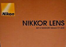 Objektiv Nikon AF-S Nikkor 50mm 1:1.8G - Fullset - 12 Monate Gewährleistung