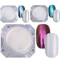 3Boxes Nail Glitter Powder Mirror Nail Art Chrome Pigment Decoration BORN PRETTY