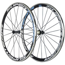 SUPERTEAM Aluminum Carbon Wheel 38mm Carbon Road Bike Wheelset R36 Alloy Brake