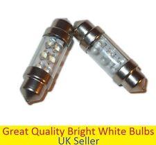 10x C5W 6 LED 36mm Xenon Light Bulb White Car Festoon Interior Dome Number Plate