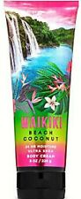 *New* Waikiki Beach Coconut ~ Body Cream ~ Bath & Body Works ~ Ships Free!
