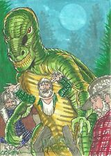 2016 Topps Mars Attacks Occupation - Dinosaurs Sketch Card by Roy Cover