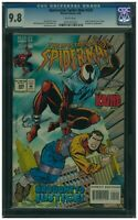 Spectacular Spider-Man 224 CGC 9.8 White Pages Ben Reilly Scarlet Spider App