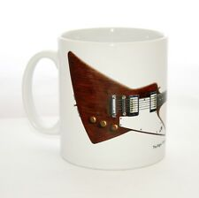 Guitar Mug. The Edge's Gibson Explorer