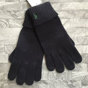 POLO RALPH LAUREN LAMBSWOOL GLOVES ONE SIZE RETAIL BNWT