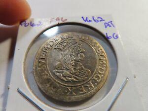 F96 Poland 1662 6 Groschen