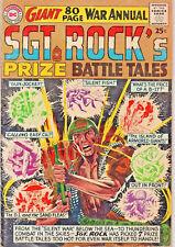 Sgt. Rock's Prize Battle Tales #1 (Mar 1964, DC) VG