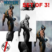 🚨💥 WOLVERINE #3 ADI GRANOV SET Of 3 Exclusives Trade / B&W / Color Virgin NM❗️