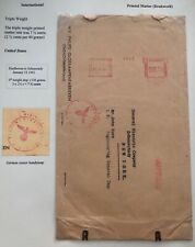 1941 Eindhoven Netherlands Censored Meter Cancel Cover To New York Usa