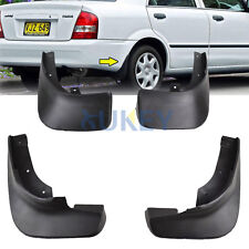 FIT FOR 1998~2003 MAZDA PROTEGE SEDAN 323 MUD FLAP FLAPS SPLASH GUARDS MUDGUARD