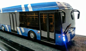 TROLZA 5265 Megapolis (Ziu) Russian Trolleybus Scale Model 1/43 Exclusive Rare