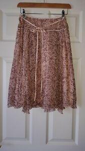 Women's Designer 100% Silk Skirts by NOUGAT LONDON 10 u.k