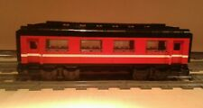 LEGO® City Eisenbahn roter Salonwaggon MOC bricktrain