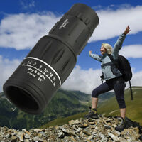 Portable 16X52 Super High Power Monocular Telescope HD OPTICS BaK4 Night Vision