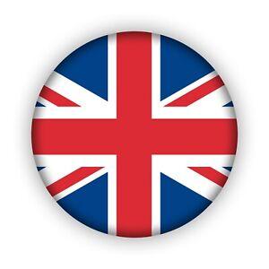 """Kühlschrankmagnet """"Union Jack"""" (Ø 38 mm) - auch für Whiteboard und Magnettafeln"""