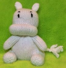 KNITTING PATTERN - Moomin inspired chocolate orange cover / 17 cms toy